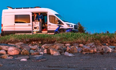 Les meilleures options pour stationner votre campervan la nuit et autres informations pratiques