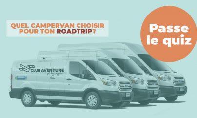 Quel campervan choisir pour ton roadtrip?